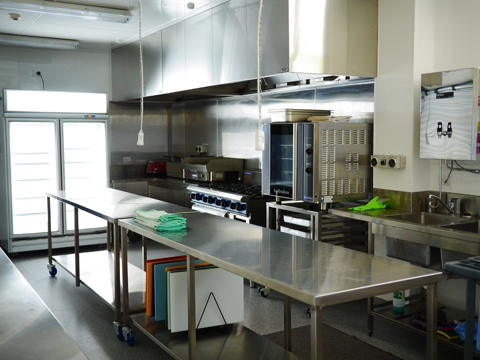commercial kitchen at firmin lodge - Commercial Kitchen