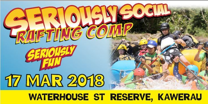 Seriously Social Rafting Competition